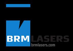 BRM lasers logo
