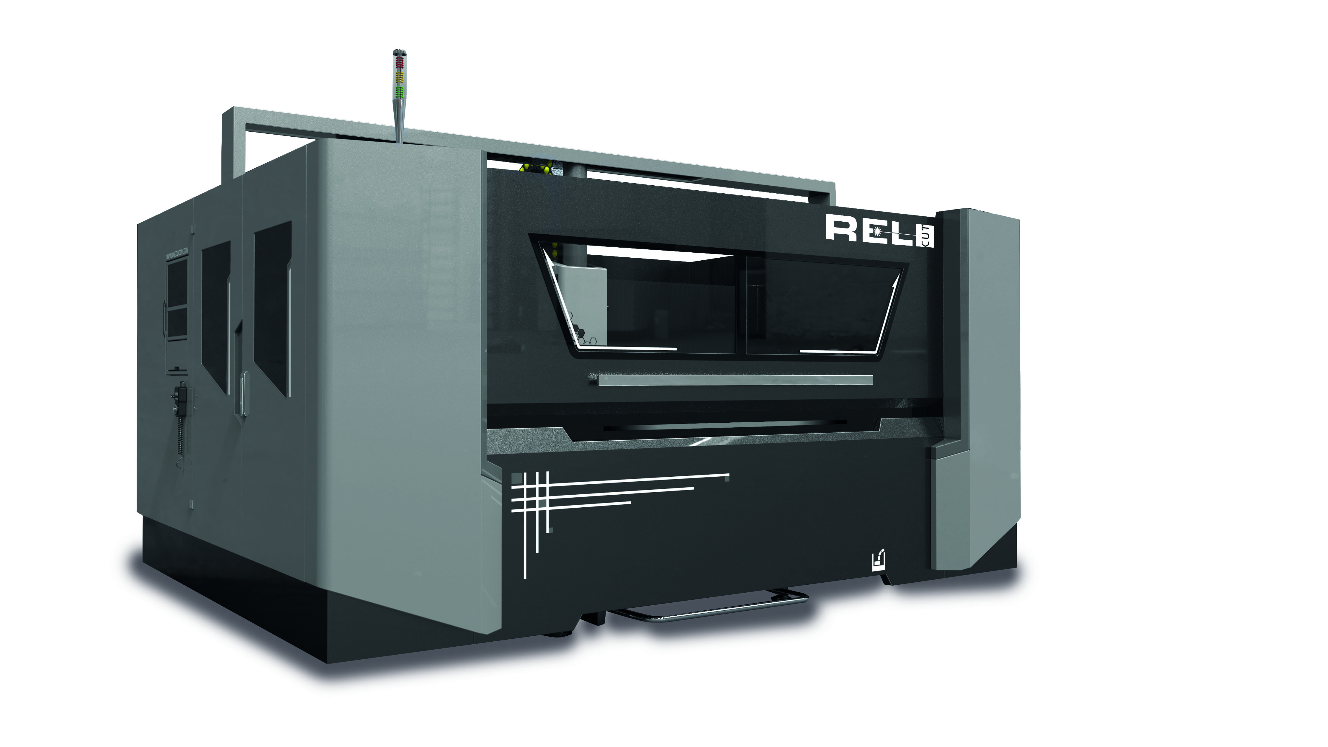 RCT-2513-9500W-K   Covered 3-axis gantry milling machine with